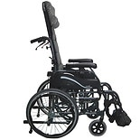 Karman 16 inch Tilt in Space Lightweight Reclining Wheelchair with 20 inch Rear Wheels