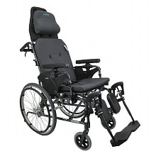 18 inch Lightweight Reclining Wheelchair