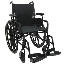 Karman 16 inch Ultra Lightweight Wheelchair with Flip Back Armrest
