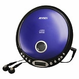 Jensen Personal CD Player CD-26 Blue