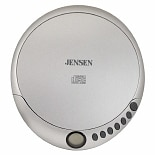 Jensen Personal CD Player CD-36 Silver