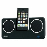 Jensen Docking Speaker Station for iPod & iPhone JISS-250I Black