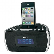 Jensen Docking Digital Music System for iPod & iPhone JIMS-125I Black