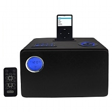 Jensen Docking Digital Music System for iPod JIMS-225 Black