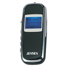 Jensen Digital Audio Player SMP-2GBL Black