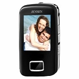 Jensen Digital Media Player SMPV-2GBUB Black