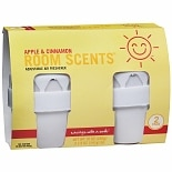 Sunny Smile Room Scents Adjustable Air Fresheners 2 PackApple & Cinnamon White