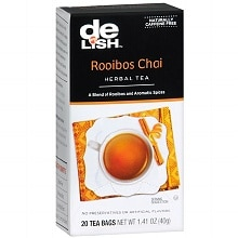 Good & Delish Herbal Tea Bags Rooibos Chai