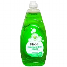Nice! Antibacterial Dishwashing Liquid Green Apple