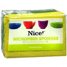 Microfiber Sponges, Assorted