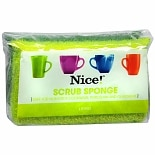Nice! Scrub Sponges Green