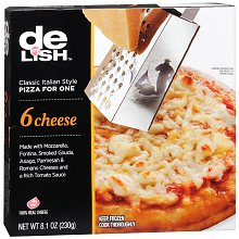 Good & Delish Classic Italian Style Frozen Pizza for One Cheese