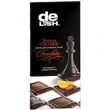 Good & Delish Premium German Dark Chocolate Bar Orange