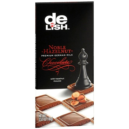 Good & Delish Premium German Milk Chocolate Bar Hazelnut