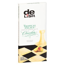 Premium German White Chocolate Bar Tropical Palace