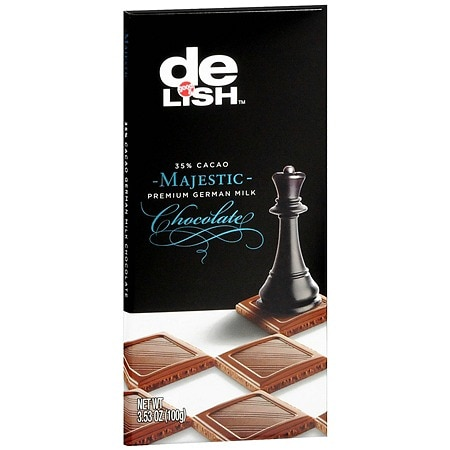 Good & Delish Premium German Milk Chocolate Bar Majestic