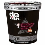 Good & Delish Premium Ice Cream Strawberry Cheesecake