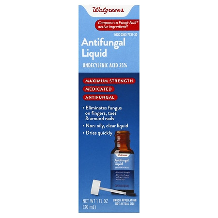 Walgreens Antifungal Liquid Solution