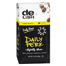 Good & Delish Daily Perk 100% Ground Arabica Coffee Light Blend