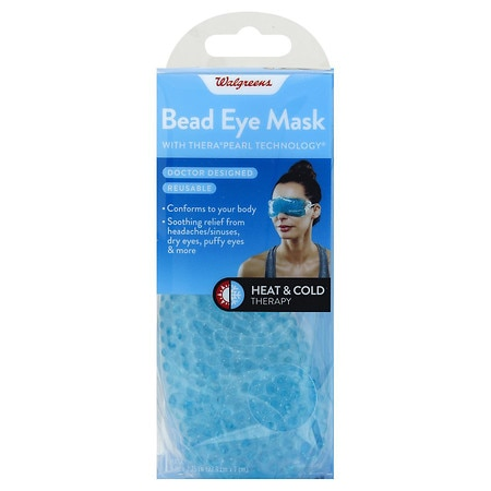Walgreens Hot & Cold Beaded Eye Mask