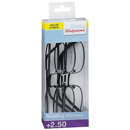 Walgreens Reader Glasses +2.50