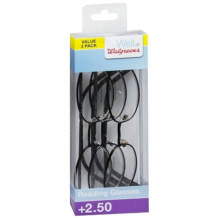 Walgreens Designer Reader Glasses +2.50