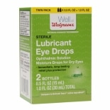 Walgreens Lubricant Eye Drops