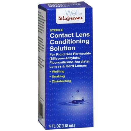 Walgreens Contact Lens Conditioning Solution