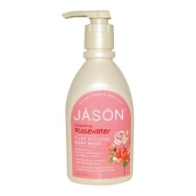 JASON Satin Shower Body Wash Invigorating Rosewater