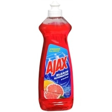 Ajax Dish Liquid with Bleach Alternative Grapefruit