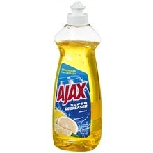 Ajax Super Degreaser Dish Liquid Lemon