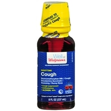 Walgreens Cough Relief Nighttime Cherry