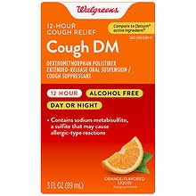 Cough DM 12 Hour Adult Orange