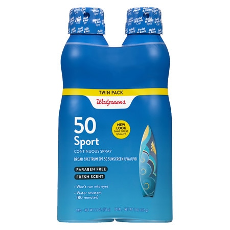 Walgreens Continuous Spray Sunscreen SPF 50
