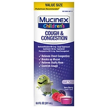 Children's Congestion & Cough Liquid Berrylicious