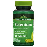 Finest Nutrition Selenium 200 MCG Tablets