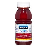 Thick-It AquaCareH20 Thickened Cranberry Juice 8 oz Bottle Honey Consistency