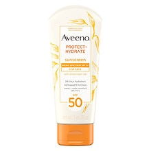 Aveeno Active Naturals Protect + Hydrate for Face SPF 50 Sunscreen Lotion