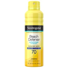 Neutrogena Beach Defense Water + Sun Barrier Sunscreen Spray  SPF 70