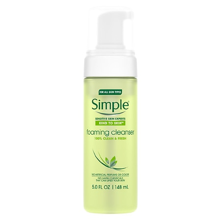 Simple Facial Foaming Cleanser