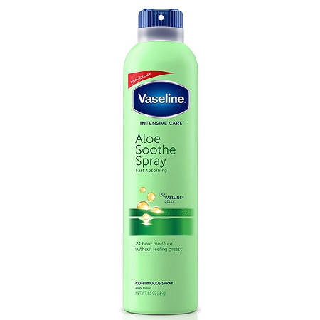 Vaseline Intensive Care Spray Moisturizer Aloe Soothe