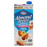 Blue Diamond Almond Breeze Unsweetened Almond Milk Vanilla