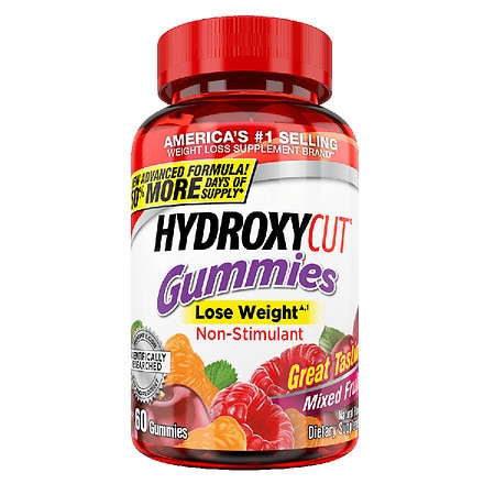 Hydroxycut Pro Clinical Weight Loss Gummies Mixed Fruit Health Fitness Skin Care Beauty Supply Deals