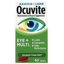 Ocuvite Antioxidant Vitamin and Mineral Supplement with Lutein Tablets