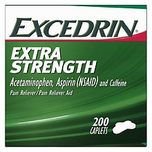 Excedrin Extra Strength Pain Reliever Aid Caplets