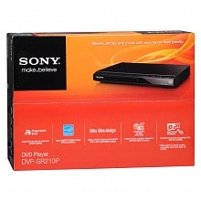 DVD Player DVP-SR210P, Black