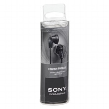 Sony Fashion Earbuds Stereo Headphones MDR-E9LP Black