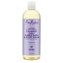 SheaMoisture Lavender & Wild Orchid Bubble Bath & Body Wash