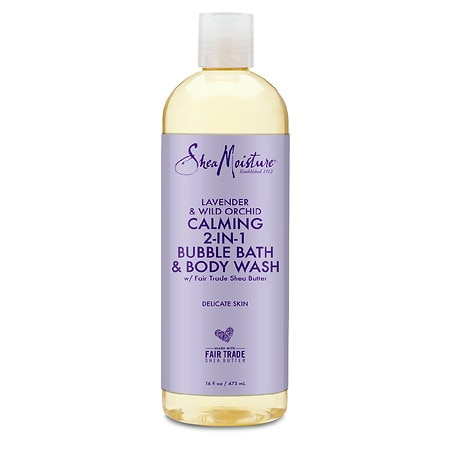 SheaMoisture Bubble Bath & Body Wash Lavender and Wild Orchid