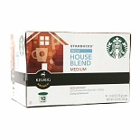 Starbucks Coffee Decaf House Blend K-Cups House Blend